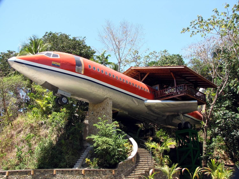 Hotel Costa Verde's 727 Fuselage Home