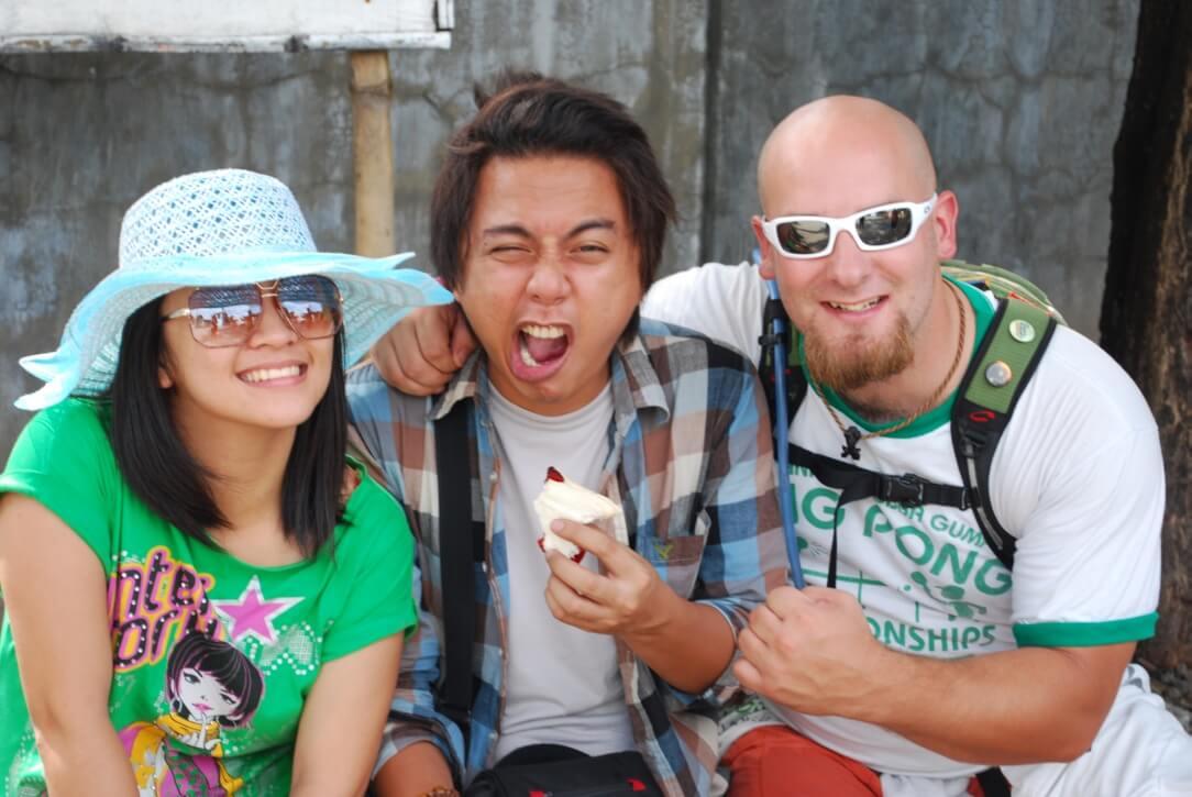 Friends in Philippines